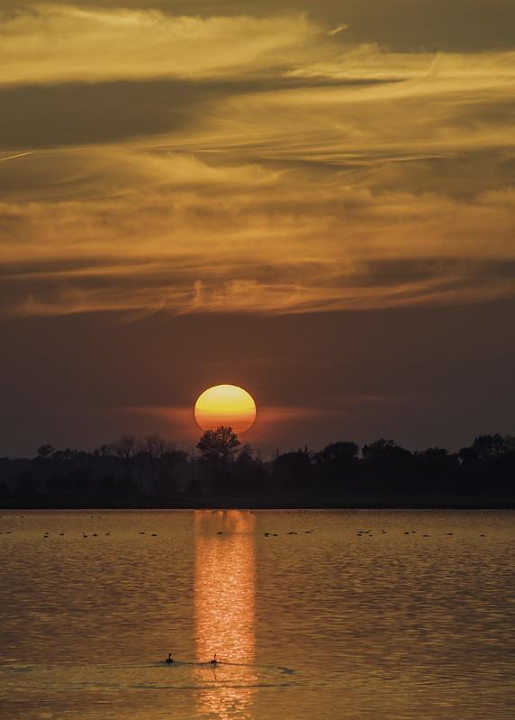 das letzte Sonnenlicht