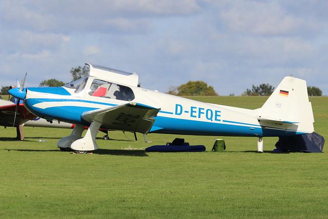 D-EFQE  -  Bolkow Bo.207 c/n 266  -  EGBK 1/9/19