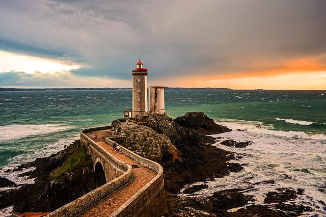 Facing Storms... Phare du Minou, Finistère, France. 2020/10/25.