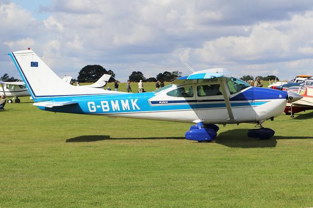 G-BMMK  -  Cessna 182P Skylane c/n 182-64117  -  EGBK 1/9/19