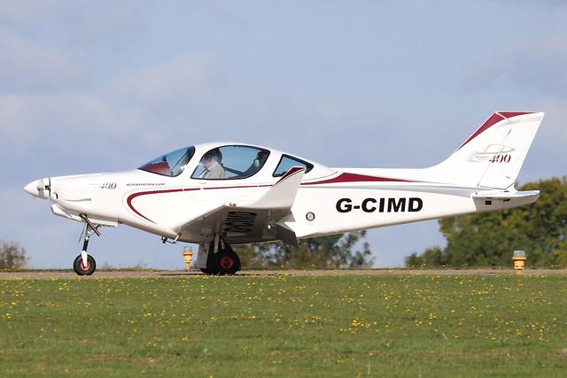 G-CIMD  -  Alpi Aviation Pioneer 400 c/n LAA 364-15302  -  EGBK 1/9/19