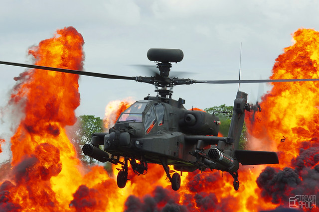 Apache Gunship, Wall of Fire