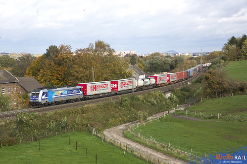 186 297 . RTB Cargo . 40668 . Aachen Gemmenichertunnel . 26.10.20.