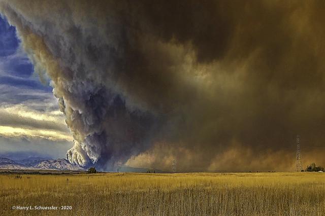 CalWood & Lefthand Canyon Fires