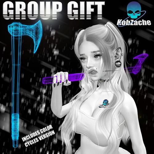 [KobZache] Axe Frame Accessoire [GROUP GIFT ♥]
