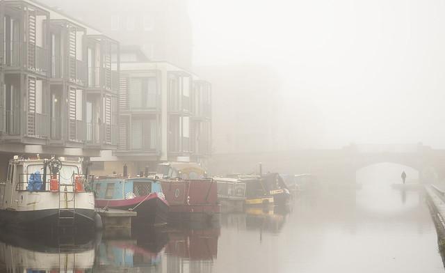 Misty Union Canal