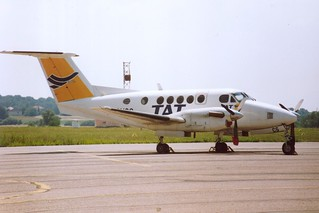 F-GHCS Beech 200 @ Nancy-Essey 28-07-1991