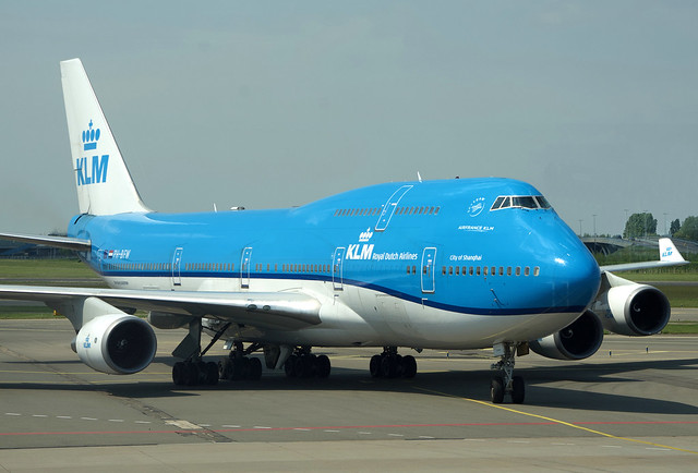 KLM 747 Farewell PH-BFW