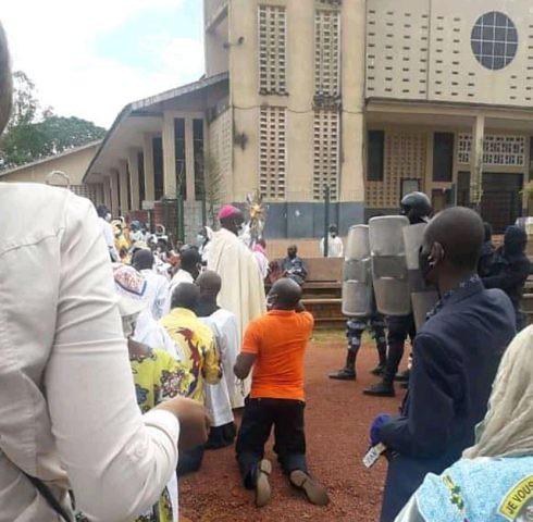 Gabon  Catholique  Réouverture des lieux de culte retour en image sur la Journée du 25 octobre1