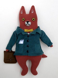 Fox in a Corduroy Jacket