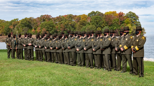 Photo of Natural Resources Police Academy Graduates at Sandy Point State Park