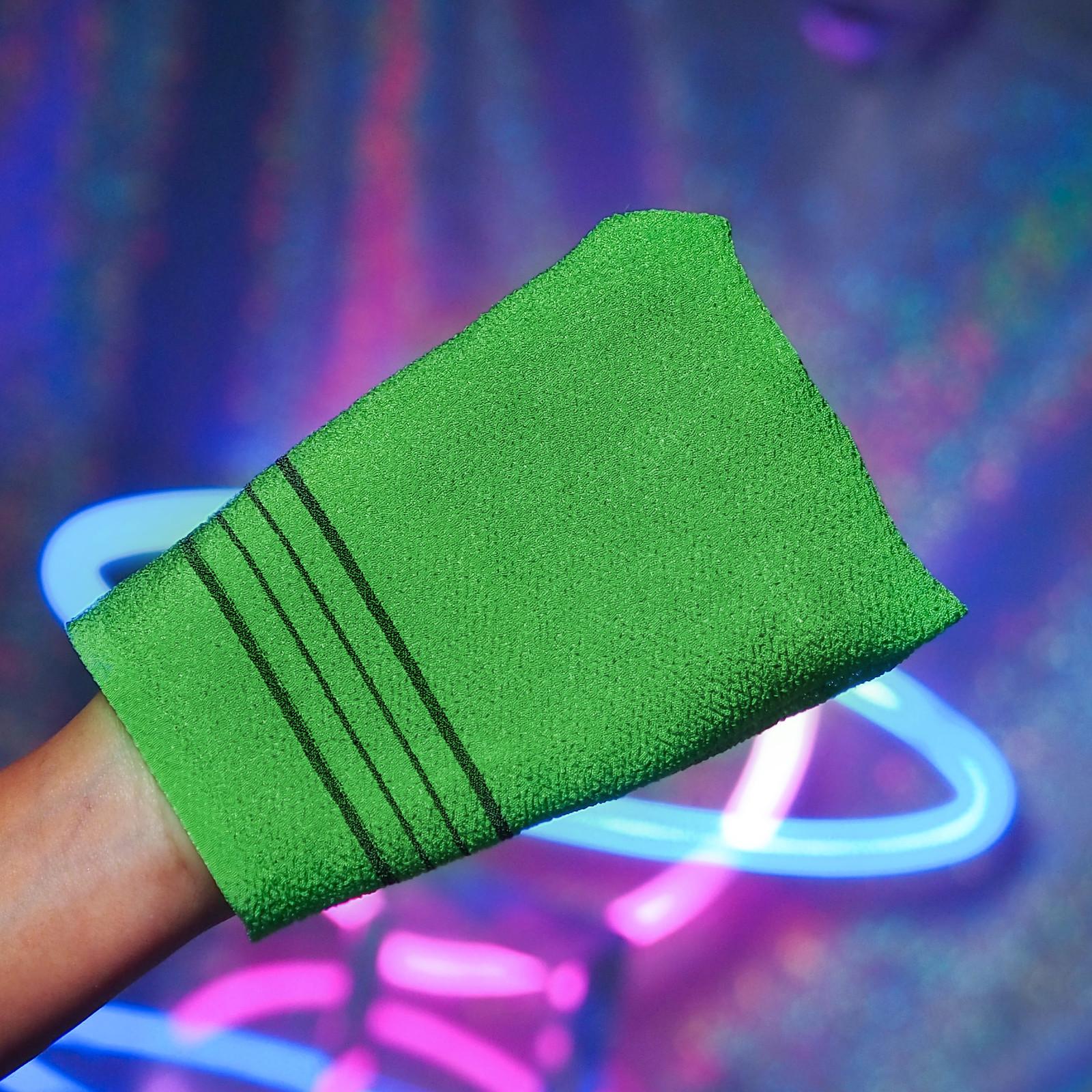 Green Exfoliating Korean Italy Towel Review