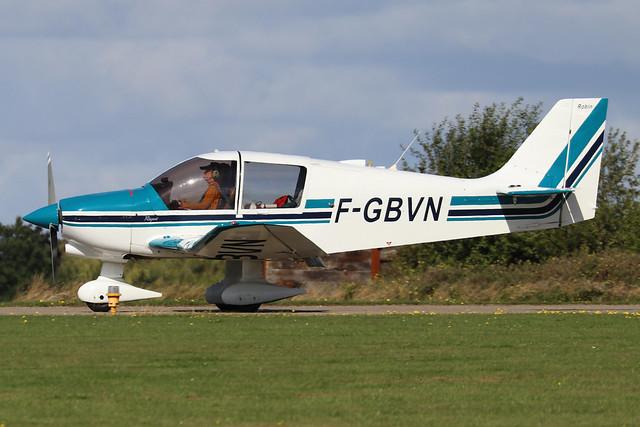 F-GBVN  -  Robin DR.400 180 Regent c/n 1408  -  EGBK 1/9/19