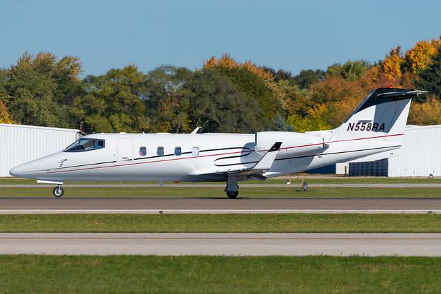 N558RA Learjet 55-086 KPTK