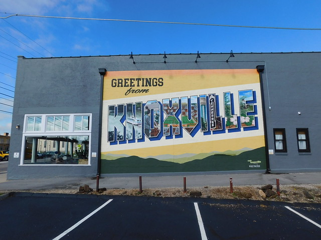 Greetings from Knoxville Mural