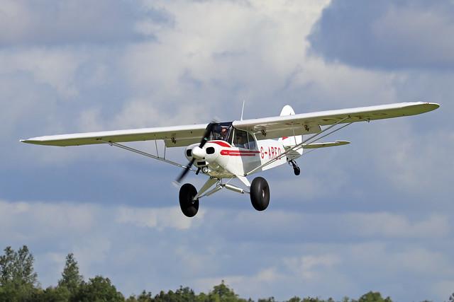 G-AREO  -  Piper PA-18 150 Super Cub c/n 18-7407  -  EGBK 1/9/19