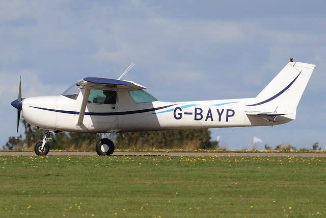 G-BAYP  -  Cessna 150L c/n 150-74017  -  EGBK 1/9/19