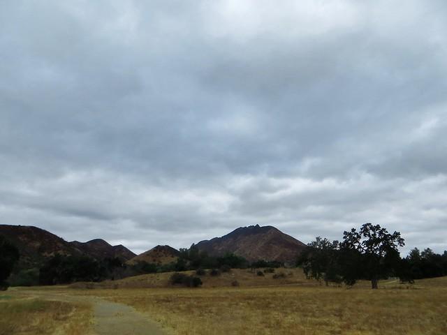 moody morning at Paramount Ranch