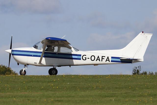 G-OAFA  -  Reims/Cessna F172M Skyhawk c/n F172-1093  -  EGBK 1/9/19