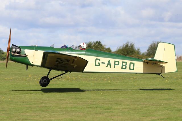 G-APBO  -  Druine D.53 c/n PFA 229  -  EGBK 1/9/19