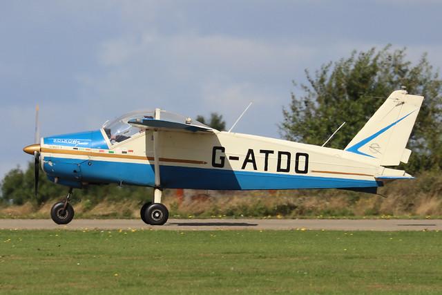 G-ATDO  -  Bolkow Junior Bo.208C c/n 576  -  EGBK 1/9/19
