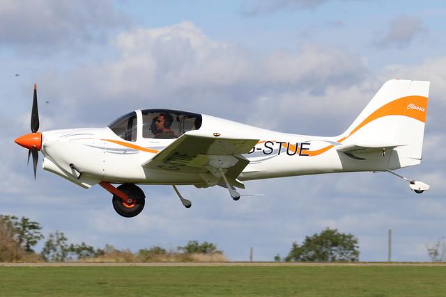 G-STUE  -  Europa Aviation Europa c/n PFA 247-12869  -  EGBK 1/9/19