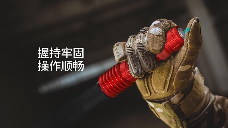 OLIGHT Warrior X PRO 武士 Red Blue 2250流明 遠射 戰術手電筒 -6