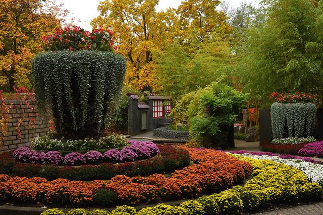 Kasteeltuinen Arcen, patiotuinen.
