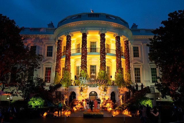 Halloween at the White House 2020