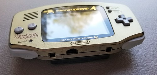 Rare GBA Gold - Pokemon Center New York | by http://www.yashicasailorboy.com