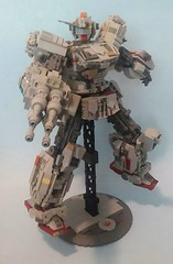 The Millennium Gundam! He might not look like much, but he's got it where it counts!