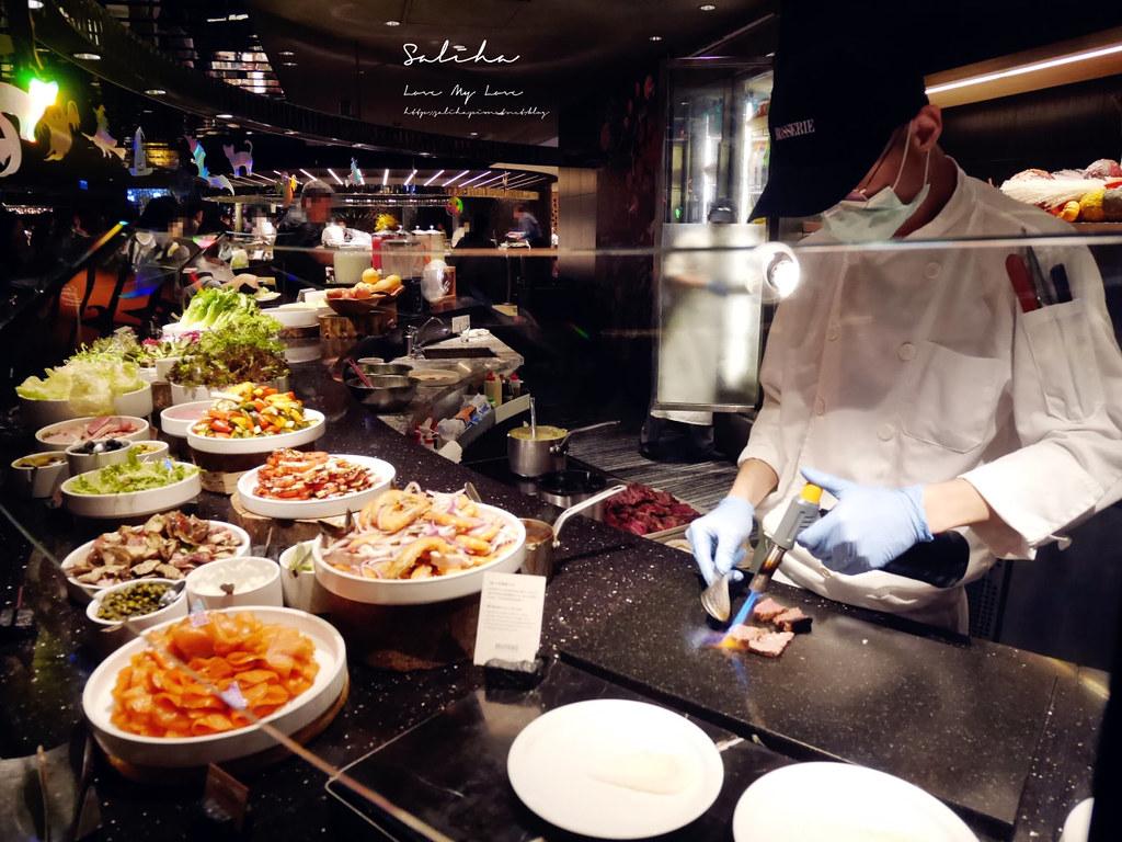 台北晶華酒店栢麗廳晚餐自助餐吃到飽buffet日本料理牛排海鮮螃蟹必吃必拿餐點整理 (5)