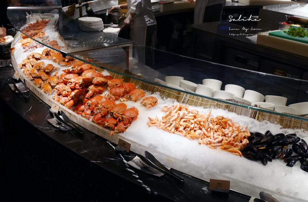 台北晶華酒店栢麗廳晚餐自助餐吃到飽buffet日本料理牛排海鮮螃蟹必吃必拿餐點整理 (3)