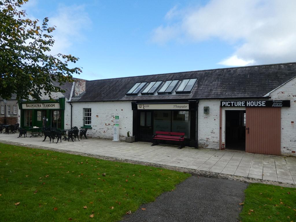 The Ulster Folk Museum tearooms