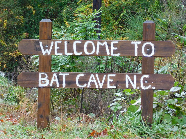Welcome to Bat Cave, North Carolina