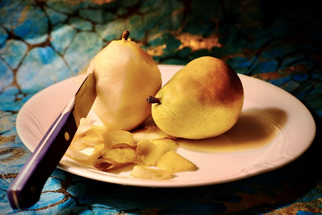 298/366 A Pair Of Pears And A Paring Knife