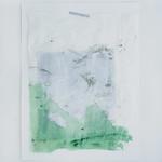 Yume no Tsuzuki (Mokuyobi) (2020) acrylic and ink on usumino washi, canson paper 360x270mm