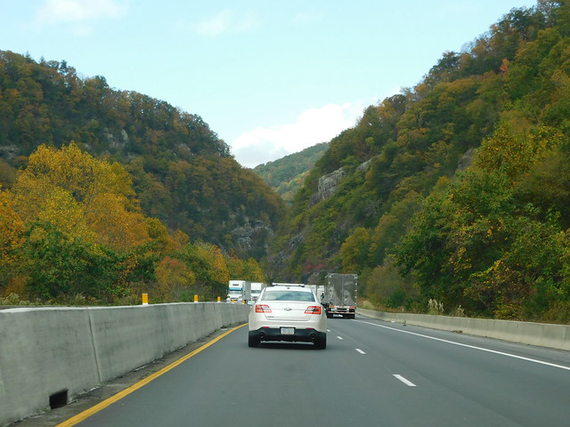 I 40 through the Pigeon River Gorge