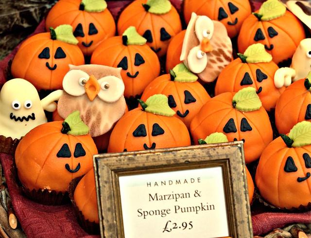Sponge Pumpkins