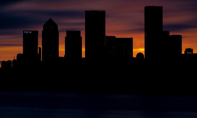 Silhouette Wharf...