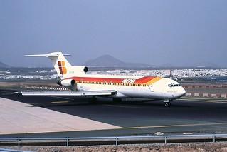 EC-CFA B727 Iberia Lanzarote 17-04-2001