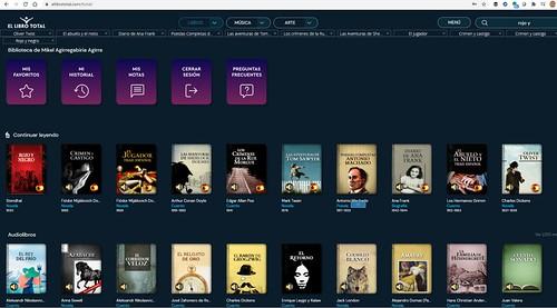 El libro total, una biblioteca gratuita que ofrece 50 mil obras