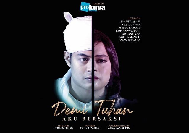 Selepas Dikecam, Drama DEMI TUHAN AKU BERSAKSI Akhirnya Dibenar Tayang di RTM