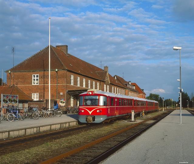 Ein Lynetter der Lollandsbanen