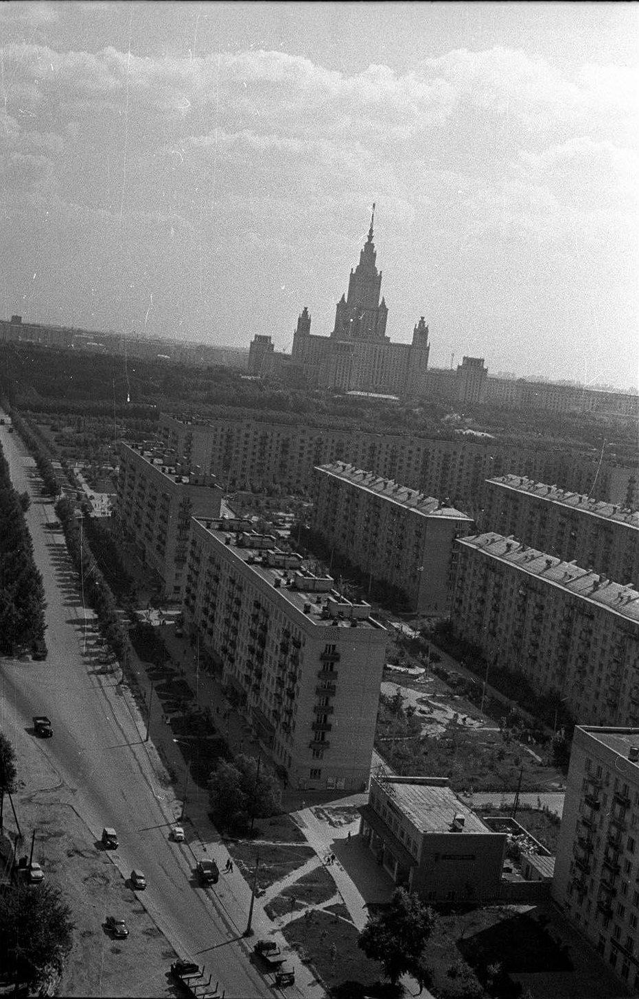 1967. Университетский проспект