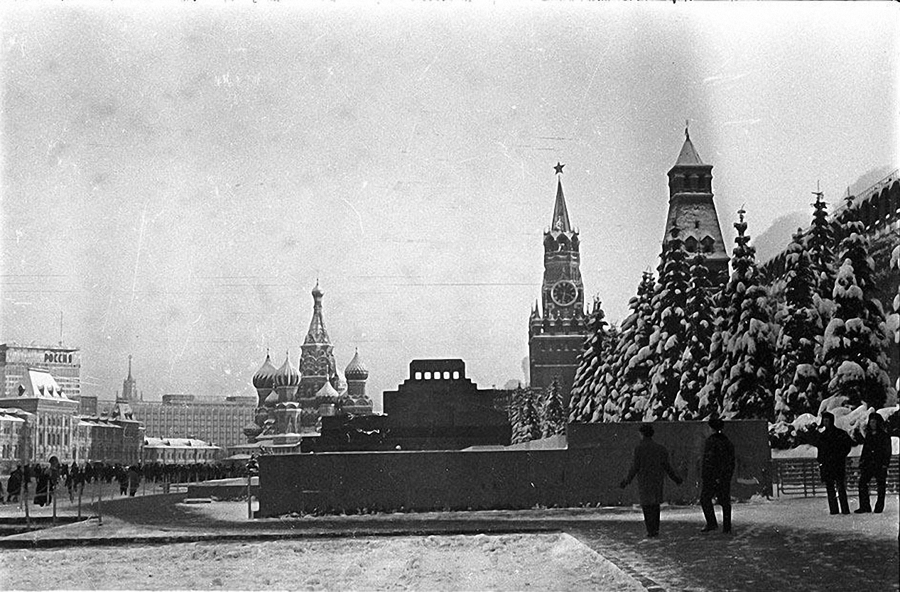 1967. Красная площадь. Зима. Красная площадь