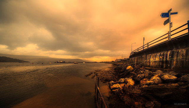 At the head of Loch Linnhe, Fort William, Scotland.