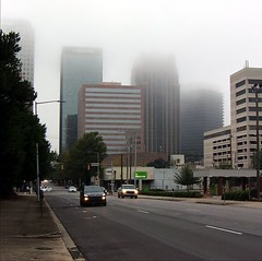 Foggy Morning in Birmingham, Alabama