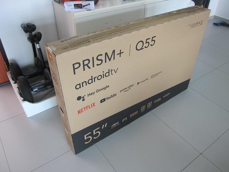 PRISM+ Q55 TV - Box