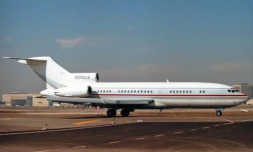 "N500LS Boeing 727-031RE 'Northwest Delaware Co"".18683-18712.2ss"